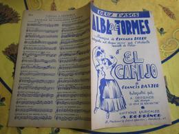 Partition - Alba De Tormès - El Canijo - édouard Duleu,francis Baxter - Other