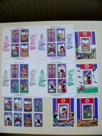 SALE! MNH MINT Post Stamps From DPR Korea 1979 International Year Of Child Children Plane Avion Rainbow Train Astronaut - Korea, North