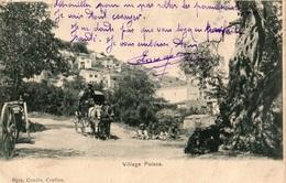GRECE ENVIRONS DE CORFOU VILLAGE PELECA - Grèce