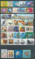FRANCE   Années 2001/2002   38 Timbres Oblitérés Différents - France