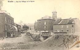 Wanlin - Rue Du Village Et Le Byran (Héliotypie De Graeve, 1911) - Houyet