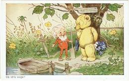 Illustrateur : Baumgarten. Ob Ich's Wage ? Lutin Et Ourson. - Baumgarten, Tilly Von