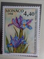 MONACO 1994 Y&T  N° 1932 **  - XXVIIe CONCOURS INTERN. DE BOUQUETS - Neufs