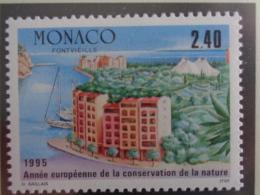 MONACO 1995 Y&T N° 1979 ** - ANNEE EUROPEENNE DE LA CONSERVATION DE LA NATURE - Monaco