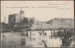 Ensemble Des Ruines Du Château, Ham, Somme, 1917 - Baudiniére CPA - Ham