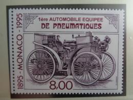 MONACO 1995  Y&T N° 1999 ** - Centenaire De La 1ERE Automobile Equipée De Pneumatiques - Neufs