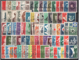 Olanda 1955/59 Annate Complete / Complete Years Set **/MNH VF - Paesi Bassi