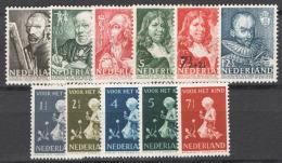 Olanda 1940 Annata Completa Commemorativi / Complete Commemorative Year Set **/MNH VF - Netherlands