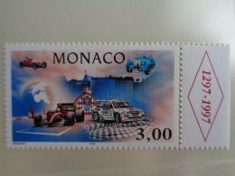 MONACO 1996  Y&T N° 2084 ** - L'AUTOMOBILE CLUB DE MONACO - Neufs