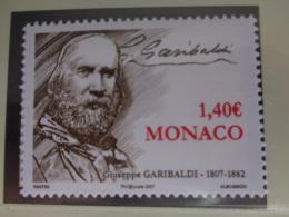MONACO 2007  Y&T N° 2589 ** - GIUSEPPE GARIBALDI HOMME POLITIQUE ITALIEN - Neufs