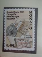 MONACO 2007  Y&T N° 2599 ** - GRANDE BOURSE 2007 LE 30 SEPTEMBRE - Neufs