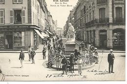 56    Lorient      Rue Du Port & Statue De Victor Massé - Lorient