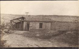 CP Photo 14-18 Près VERDUN - Un Abri En Dur, Béton, Poste Téléphonique? (A195, Ww1, Wk 1) - War 1914-18