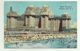 ATLANTIC CITY - HOTEL TRAYMORE VIAGGIATA FP - Atlantic City