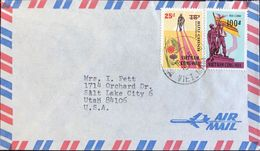 ◆◆VIETNAM   1974 AIR MAIL TO USA - Viêt-Nam