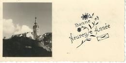 CHIMAY : Bonne Et Heureuse Année - RARE Mignonette - Courrier De 1950 - Dimensions 9.2 / 4.7 Cm - Chimay