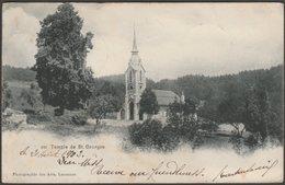 Temple De St Georges, Vaud, 1903 - Photographie Des Arts U/B CPA - VD Vaud