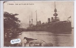VIET-NAM- SAIGON- VUE SUR LE PORT DE GUERRE - Vietnam