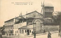 PARIS MONTMARTRE XIIIe - Le Moulin De La Galette - Otros