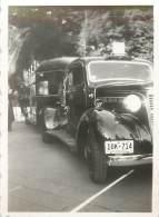 PHOTO 1939 - FLORIDE - TRES BELLE VOITURRE GENERAL MOTORS TRUCK ET SA REMORQUE - Krieg, Militär