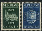 Pays-Bas (1939) N 325 à 326 * (charniere) - Non Classificati