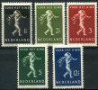 Pays-Bas (1939) N 327 à 331 * (charniere) - Non Classificati