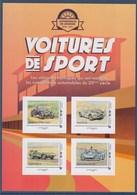 = Voitures De Sport 3/3 Collector 4 TVP LV Adhésifs Chenard Et Walker Sport Ford GT 40 Jaguar Type D Matra Simca MS 670 - Collectors