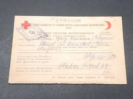 U.R.S.S. - Carte De Prisonnier De Guerre De Moscou Pour L 'Allemagne En 1946 - L 18853 - Covers & Documents