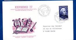 Luxembourg  -   Enveloppe Exphimo 1977 -  Mondorf Les Bains  --  28/5/1977 - FDC