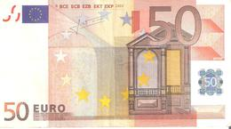 50 Euros 2002 Serie Z  Signature  TRICHET   T006   G5   ..2 SCANER - EURO