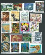 FRANCE     20 Timbres (grand Format) Oblitérés Différents - Années 1998/2014 - Used Stamps