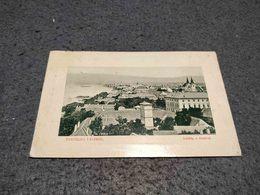ANTIQUE PHOTO POSTCARD HUNGARY UDVOZLET VACZROL LAKTEP A DUNAVAL CIRCULATED 1910 - Hungary