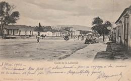 Cpa GUATEMALA 1904 CALLE DE LA LIBERTAD Fotografias A VALDEAVELLANO - Guatemala