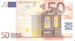 50 Euros 2002 Serie V  Signature  TRICHET   M037   G2   ..2 SCANER - EURO