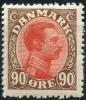 Danemark (1919) N 115 * (charniere) - 1913-47 (Christian X)