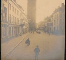 GENT - OUDE ORIGINELE FOTO OP HARD KARTON - ZIE AFBEELDING - 23 X 22.5 CM - Gent
