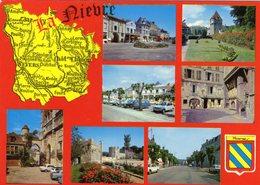 -- DEPARTEMENT Dela NIEVRE Et MUTIVUES - Château Chinon- Nevers- Cosne S/Loire- Clamecy- La Charité S/Loire- Decize- Cor - France