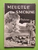 Livre - 200 - Meurtre En Smoking - Collection Sphinx - Roman Policier - N° 23 - Louis Maryse - Livres, BD, Revues