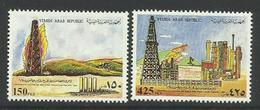 YEMEN DU NORD - 1987 - N°1831/2 ** Puits De Pétrole - Yemen