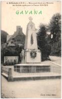 35 SAINT-BROLADRE - Monument élevé à La Mémoire Des Soldats Mort Pour Al France - Francia