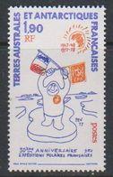 Taaf 1978 Expeditions Polaires 1v  ** Mnh (39106A) - Franse Zuidelijke En Antarctische Gebieden (TAAF)