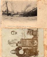 TONKIN - N° 1009 - HANOÏ Après Le Typhondu 7 NJuin 1903 - Place De Negrier - Photo Non Localisée Au Verso  (106673) - Vietnam