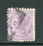 NOUVELLE ZELANDE- Y&T N°61- Oblitéré - 1855-1907 Crown Colony