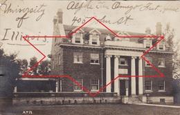 Postcard Champaign Urbana. University Of Illinois - ALPHA TAU OMEGA FRATERNITY HOUSE (A195) - Etats-Unis