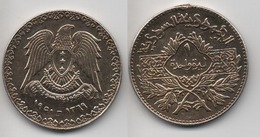 + SYRIE + 1 LIRA 1950 (1369) +  TRES BELLE + - Syria