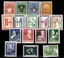Autriche Belle Petite Collection Neufs ** MNH 1948/1955. Bonnes Valeurs. TB. A Saisir! - 1945-.... 2. Republik