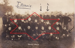 Postcard 1909 Champaign Urbana. University Of Illinois - Varsity Sports (A195) - Etats-Unis