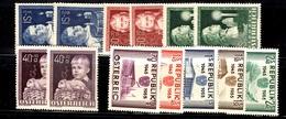 Autriche YT N° 765/768 (2) Et N° 845/849 Neufs ** MNH. TB. A Saisir! - 1945-.... 2. Republik