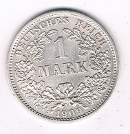 1 MARK 1909 D DUITSLAND /3262G/ - [ 2] 1871-1918 : Empire Allemand