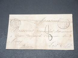 NOUVELLE CALÉDONIE - Enveloppe De Nouméa Pour La France En 1868 - L 18876 - Neukaledonien